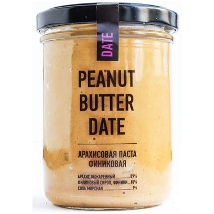 Арахисовая паста арахис проджект финиковая 200 гр