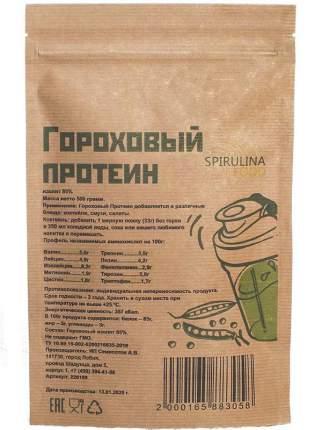 Протеин Spirulinafood 85%, 500 г, натуральный