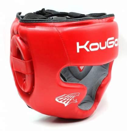 Шлем тренировочный KouGar KO210, р.M, красный