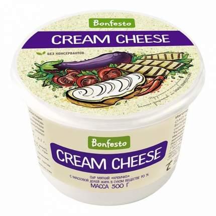 Творожный сыр Bonfesto Кремчиз сливочный 70% 500 г бзмж