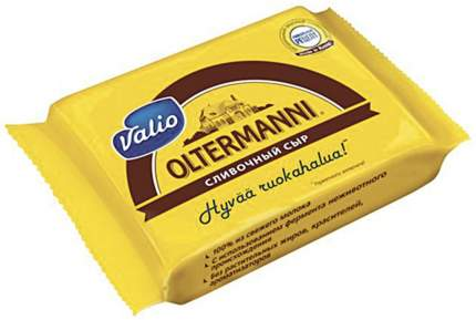 Сыр полутвердый Valio Oltermanni Сливочный 45% 300 г бзмж