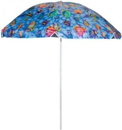 Зонт пляжный Ecos SDBU002A, высота200см, стойка с наклоном