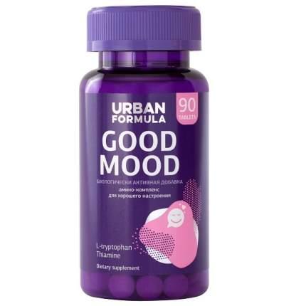 Комплекс для хорошего настроения Urban Formula с L-триптофаном, Good Mood таблетки 90 шт.