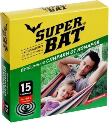 Супер Бат спирали зелёные от комаров 15 шт.*60(01-004)