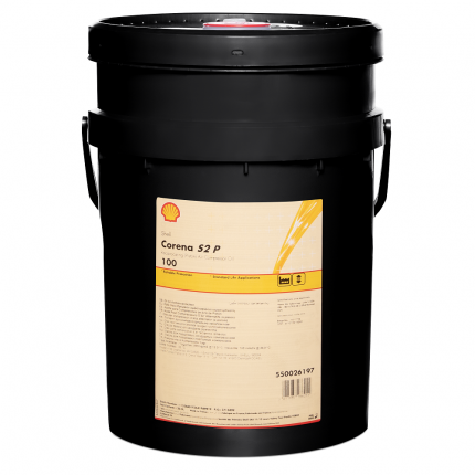 Масло компрессорное минеральное Shell Corena S2 P 100 20 л.