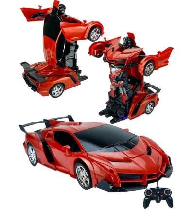 Машинка-трансформер радиоуправляемая Робот, цвет красный Город игр GN-8348/красный