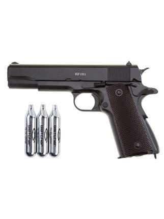 Пистолет пневматический Gletcher CLT 1911 + 3 баллона CO2