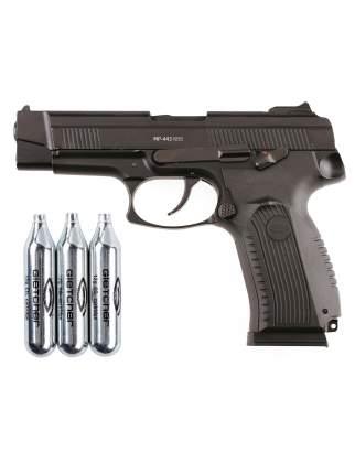 Пистолет пневматический Gletcher MP-443 NBB + 3 баллона СО2
