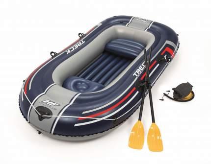 Лодка Treck X2 двухместная, до 225 кг, 255 х 127 х 36 см, Bestway