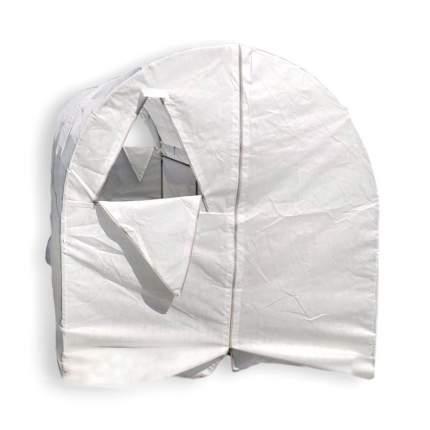 Теплица Палисад XL 6х2х2м, Оцинкованная сталь, Нетканое полотно