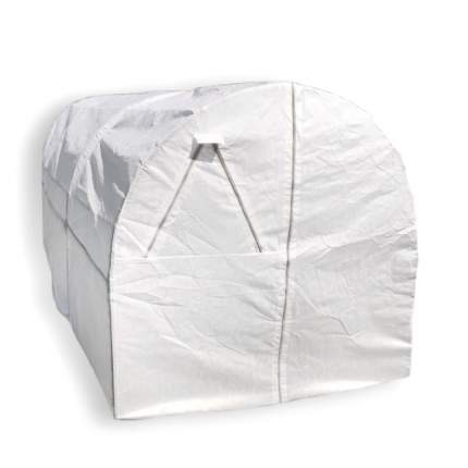 Теплица Палисад XL 7,5х2х2м, Оцинкованная сталь, Нетканое полотно