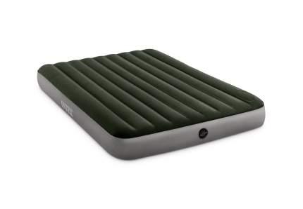 Матрас надувной DURA-BEAM Queen 152 х 203 х 25 см, с встроенным ножным насосом 64763 Intex