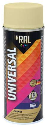 Эмаль аэрозольная  INRAL UNIVERSAL, слоновая кость RAL1014, 400ml