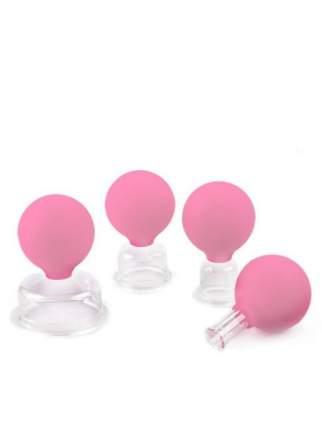 Банки вакуумные полимерные для проведения стат. или кинетического вакуум-массажа ЭКО-7
