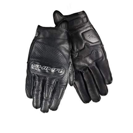 Мотоперчатки SHIMA CALIBER black 2XL