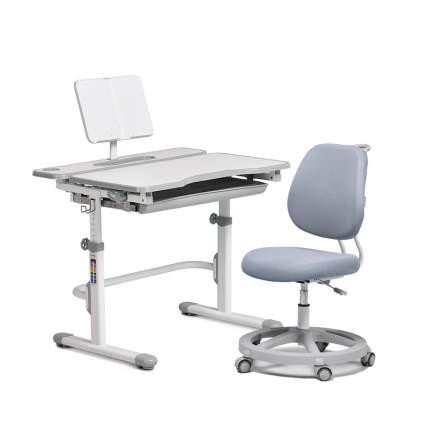 Комплект мебели Cubby парта Freesia Grey + кресло Pratico Grey