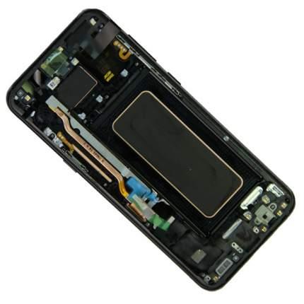 Дисплей для Samsung SM-G955F (Galaxy S8+) модуль в сборе с тачскрином Black (OEM)