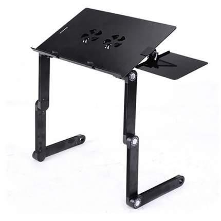 Столик трансформер для ноутбука Multifunctional Laptop Table T6 с 2 вентиляторами 55х26 см