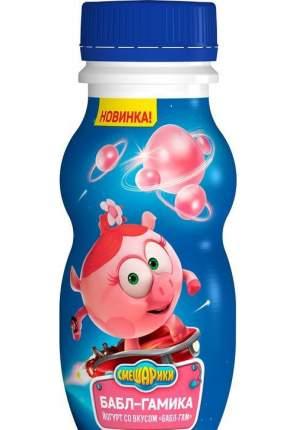 Питьевой йогурт Смешарики Бабл-Гам 1,6% 200 мл