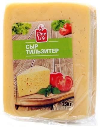 Сыр полутвердый Fine Life Тильзитер 45% 250 г бзмж