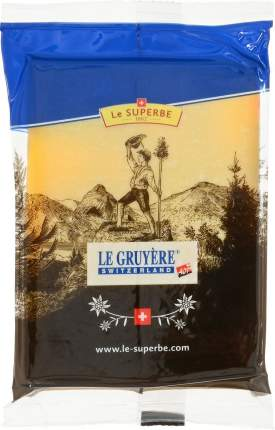 Сыр твердый Le Superbe Le Gruyere 50% 195 г бзмж