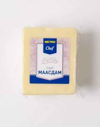 Сыр полутвердый Metro Chef Маасдам 45% ~1 кг бзмж