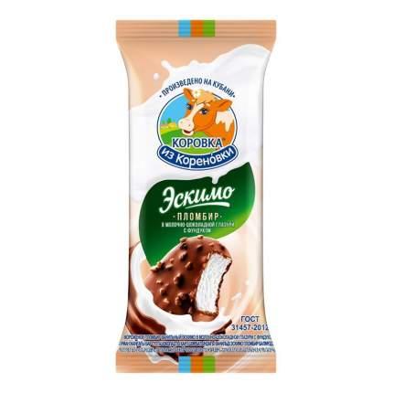 Мороженое пломбир Коровка из Кореновки с фундуком 70 г бзмж