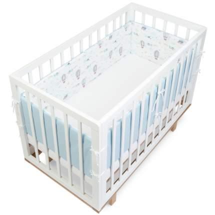 Текстильный бортик для кроватки loombee для новорожденных SC-1127