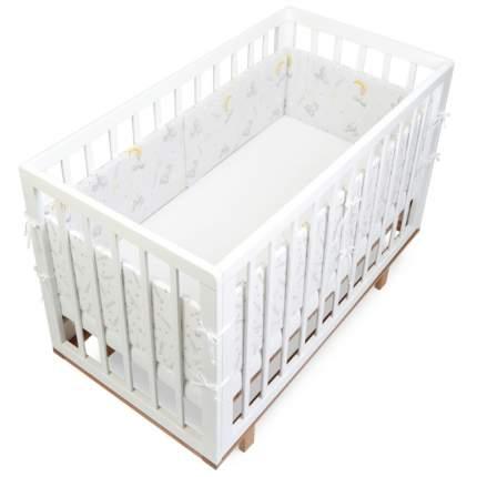 Текстильный бортик для кроватки loombee для новорожденных SC-1131