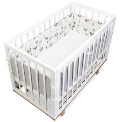 Текстильный бортик для кроватки loombee для новорожденных SC-1134