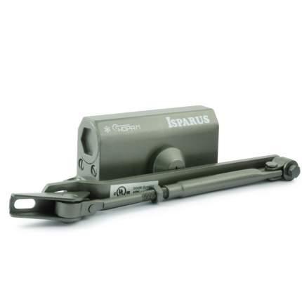 Доводчик дверной НОРА-М Isparus 410 морозостойкий (от 15 до 60 кг) - Графит (бронза)
