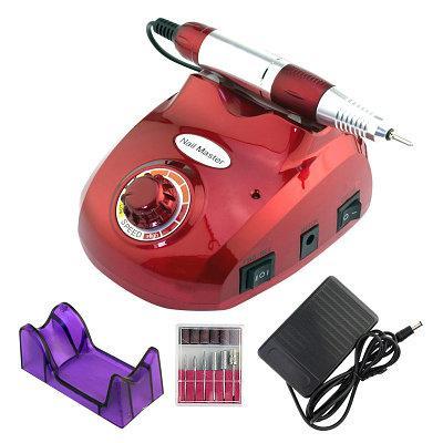 Маникюрный аппарат Nail Master ZS-603 45000 об. красный, 65W