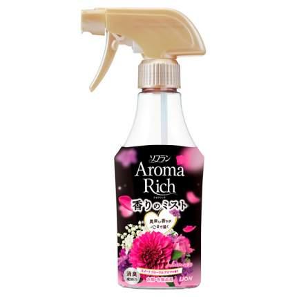 LION Soflan Aroma Rich Juliette Дезодорант-кондиционер для белья цветочный аромат 280 мл