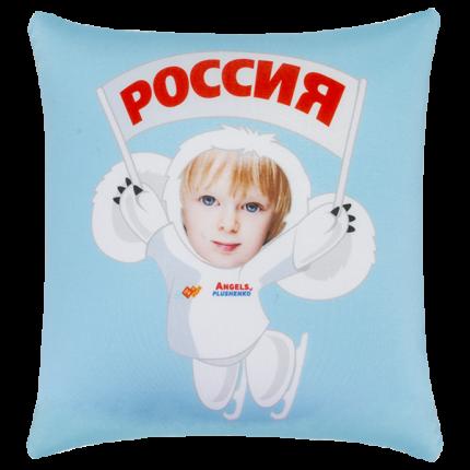 Игрушка-подушка Чебусашка LVY017