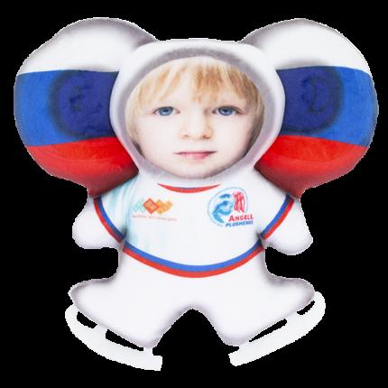 Игрушка-подушка Чебусашка LVY021