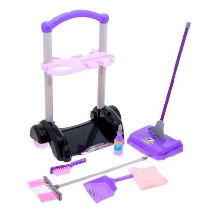 Игровой набор для уборки Заботливая хозяйка, на колесах Sima-Land