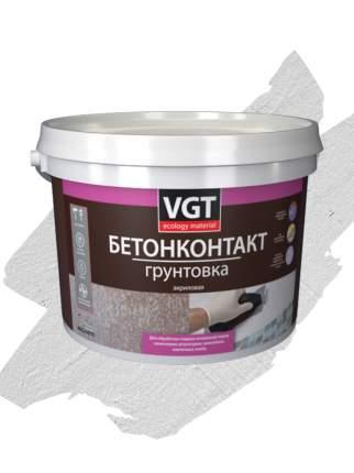 """Грунтовка VGT ВД-АК-0301 """"Бетонконтакт"""" 3.0 кг"""