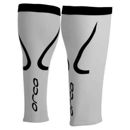 Гетры компрессионные Orca Comp Calf Sleeve, белые, S