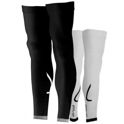 Гетры компрессионные Orca Full Leg, черные, L