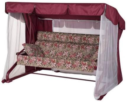 Садовые качели Удачная мебель Валенсия A44R.525 224х150х170 см винный