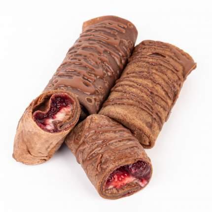 Блинчики шоколадные с ягодами Ecomarket 3 шт - 240 г