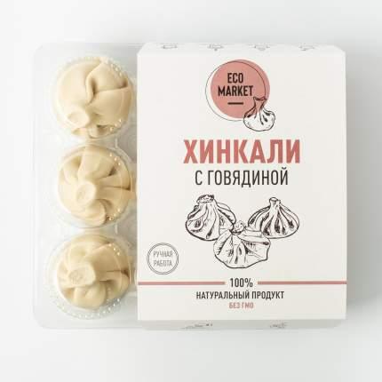 Хинкали с говядиной Ecomarket +- 500 г (6 шт)