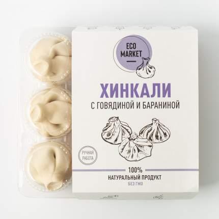 Хинкали с говядиной и бараниной Ecomarket +- 500 г (6 шт)