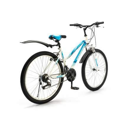 "Велосипед Top Gear Style 2021 16"" бело-голубой"