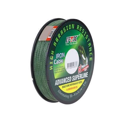 Шнур 150 метров, 0.140mm в диаметре, темно-зеленый, 12х12х2,5 см, Рыбиста RB-WIRE-15