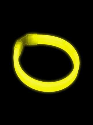 Светящийся браслет тройной Феникс-Презент Желтый браслет