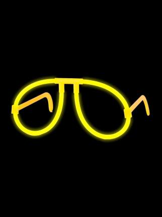 Светящиеся очки Феникс-Презент Желтые
