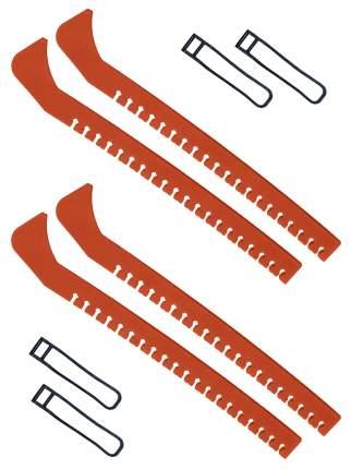 Набор зимний: Чехлы для коньков оранжевые - 2 шт.
