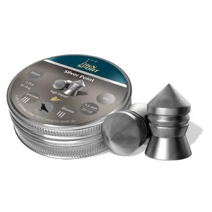 Пули H&N Silver Point 5,5 мм 1,11 г (200 шт.) винт.