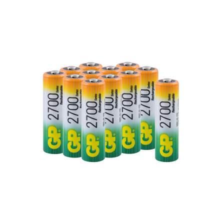Аккумуляторные батарейки GP АА (HR6), 12 шт